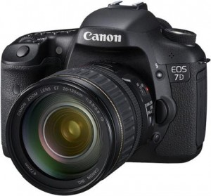 Canon EOS 7D Digitale spiegelreflexcamera