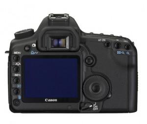 Canon 5D Mark II achterzijde